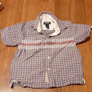 4/$20 Osh Kosh Button Down